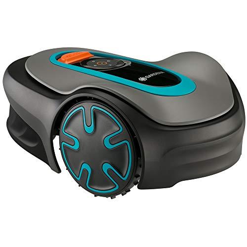 GARDENA Robot cortacésped SILENO minimo 250 m²: cortacésped inteligente con conectividad óptima, programable con la aplicación Bluetooth® de GARDENA, versión IT/ES (15201-34)