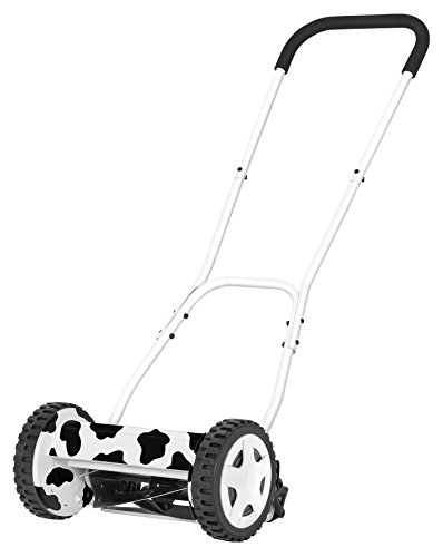 Skil F0150721AA Cortacésped Manual Cow, 2000 W, 240 V, Blanco y Negro