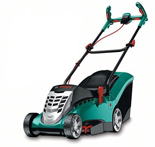 Bosch 0.600.8A4.100 ROTAK 37 Cortacésped, Generación 4.0, 1400 W, 230 V, Negro/Verde