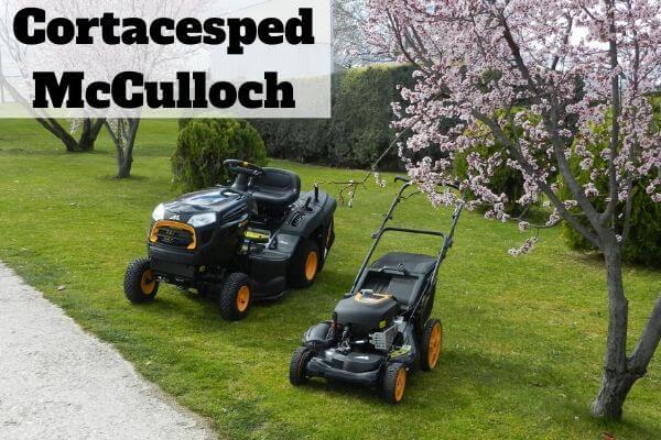 Comprar cortacésped McCulloch
