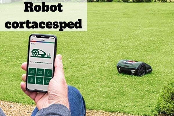 Comprar robot cortacésped
